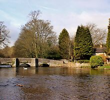 Sheepwash Packhorse Bridge by John Dunbar