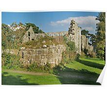 Jervaulx Abbey Poster