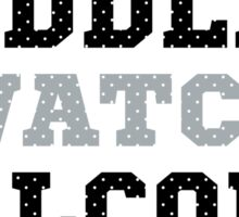Let's Cuddle And Watch Falcons Football. Sticker