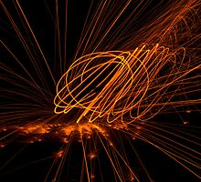 Dancing Sparks by Aden Brown