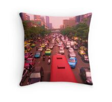 Symmetrical Siam Throw Pillow