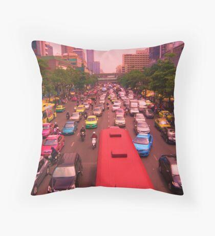 Symmetrical Siam Throw Pillow