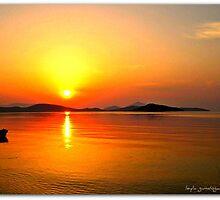 bodrum sunrise by boncukleyla