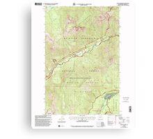 USGS Topo Map Washington State WA Goose Prairie 241360 2000 24000 Canvas Print