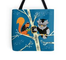 Woodland Arithmetic Tote Bag