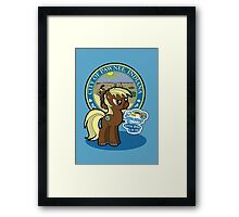 My Little Sebastian Framed Print