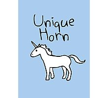 Unique Horn Unicorn Photographic Print