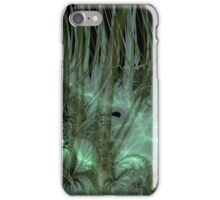 Undergrowth in Green iPhone Case/Skin