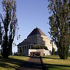 Shrine of Remembrance - Melbourne by SophiaDeLuna