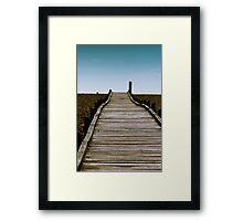 Dungeness Walkway Framed Print