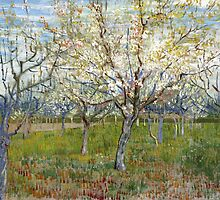 Vincent Van Gogh - The Pink Orchard by lifetree