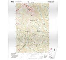 USGS Topo Map Washington State WA Sweetgrass Butte 244147 2002 24000 Poster