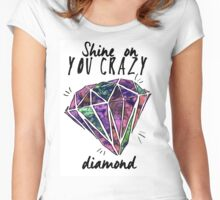 crazy diamond Women's Fitted Scoop T-Shirt