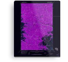 USGS Topo Map Washington State WA Loup Loup 242079 1956 62500 Inverted Metal Print