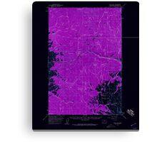 USGS Topo Map Washington State WA Loup Loup 242079 1956 62500 Inverted Canvas Print