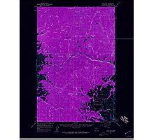 USGS Topo Map Washington State WA Loup Loup 242079 1956 62500 Inverted Photographic Print