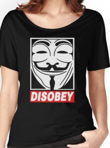 Disobey Anonymous Women's Relaxed Fit T-Shirt