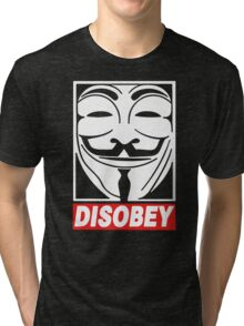 Disobey Anonymous Tri-blend T-Shirt