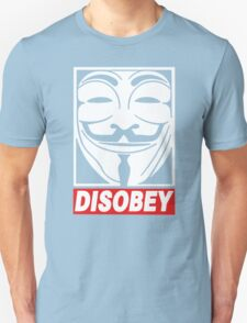 Disobey Anonymous Unisex T-Shirt