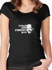 Totally Joss Whedon's Bitch Women's Fitted Scoop T-Shirt