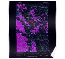 USGS Topo Map Washington State WA Loomis 242061 1956 62500 Inverted Poster