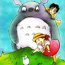 Totoro&Pals by debzandbex