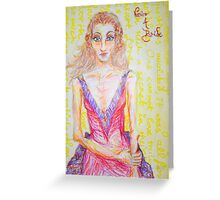 Never a Bride Greeting Card