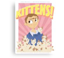 John Watson - Kittens Canvas Print