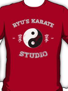Ryu's Karate Studio - Black Version T-Shirt