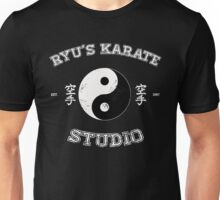 Ryu's Karate Studio - Black Version Unisex T-Shirt