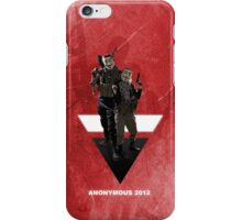 Anonymous 2012 iPhone Case/Skin