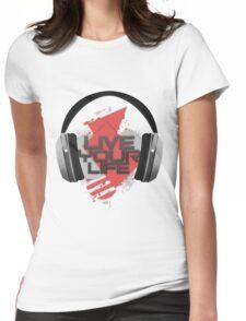 Music T-shirt Womens Fitted T-Shirt