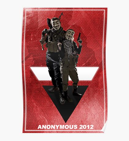 Anonymous 2012  Poster