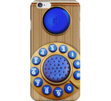 Ringgg_Blue iPhone Case/Skin