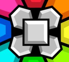 Rainbow Badge Sticker