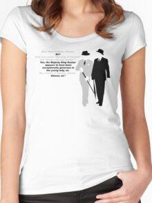 Bertie Wooster Women's Fitted Scoop T-Shirt