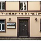 Alte Weinschenke in Meerbusch Lank, NRW, Germany. by David A. L. Davies