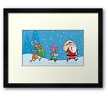 Christmas Night Framed Print
