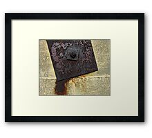 Metal Plate and Wall Framed Print