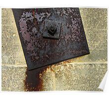 Metal Plate and Wall Poster