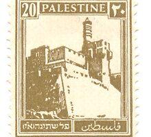 Palestine (British Mandate) pre 1948 stamp by PhotoStock-Isra