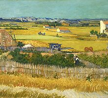 Vincent Van Gogh - The Harvest by lifetree