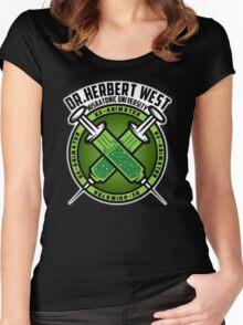 DrWest Miskatonic University Women's Fitted Scoop T-Shirt