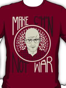 Make C10H15N Not War T-Shirt