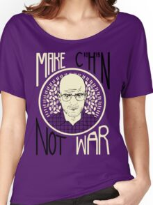 Make C10H15N Not War Women's Relaxed Fit T-Shirt