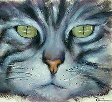 Tabby II by Carole Russell
