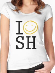 I LOVE SH Women's Fitted Scoop T-Shirt