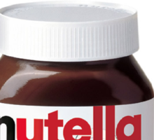My Jar of Dirt/Nutella Sticker