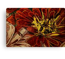 Effervescent - Sparkling, Intricate Ceramic Tile Mosaic Canvas Print