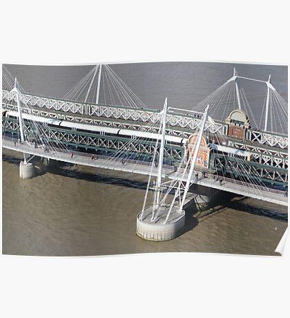 Golden Jubilee Bridge Poster